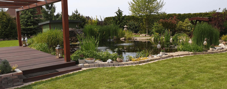 oczko wodne, ogród, Elo.Garden Nadarzyn